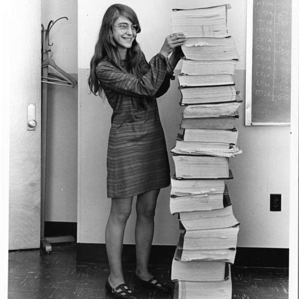 Luna, il primo passo grazie al software scritto da una donna