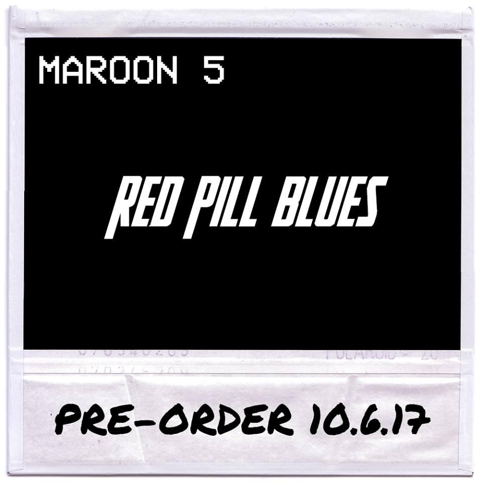 """Maroon 5, annunciato il nuovo album """"Red Pill Blues"""""""