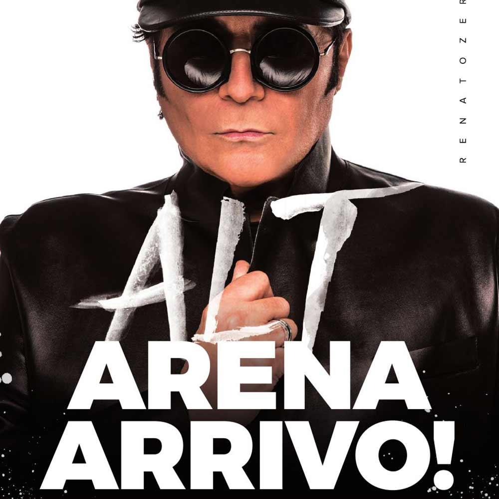 """Renato Zero: """"Alt! Arrivo all'Arena di Verona"""""""