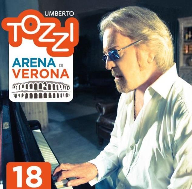 Umberto Tozzi grande evento a Verona con gli amici