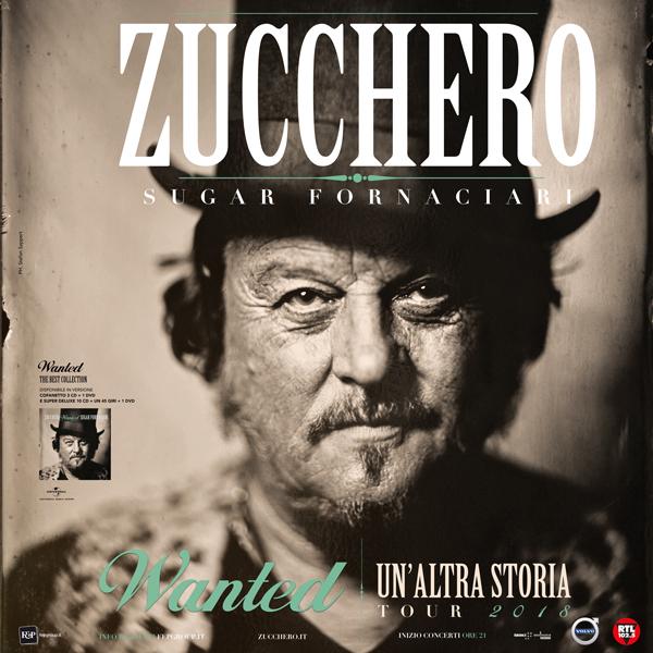 """Zucchero celebra la sua carriera con """"Wanted"""" e il nuovo tour"""