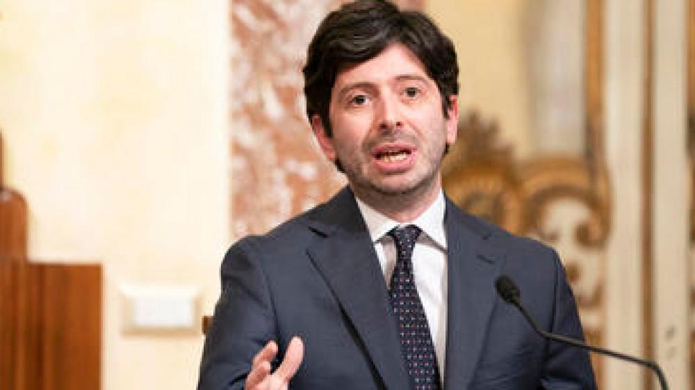 Governo, il ministro della Salute Speranza colora di giallo tutta l'Italia tranne la Valle d'Aosta