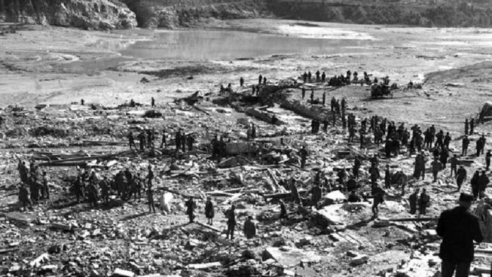 58 anni fa il disastro della diga del Vajont, morirono quasi duemila persone travolte dall'acqua