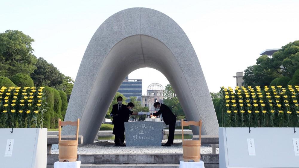 A Hiroshima cerimonia in occasione del 76esimo anniversario del bombardamento atomico, tra gaffe  e qualche polemica