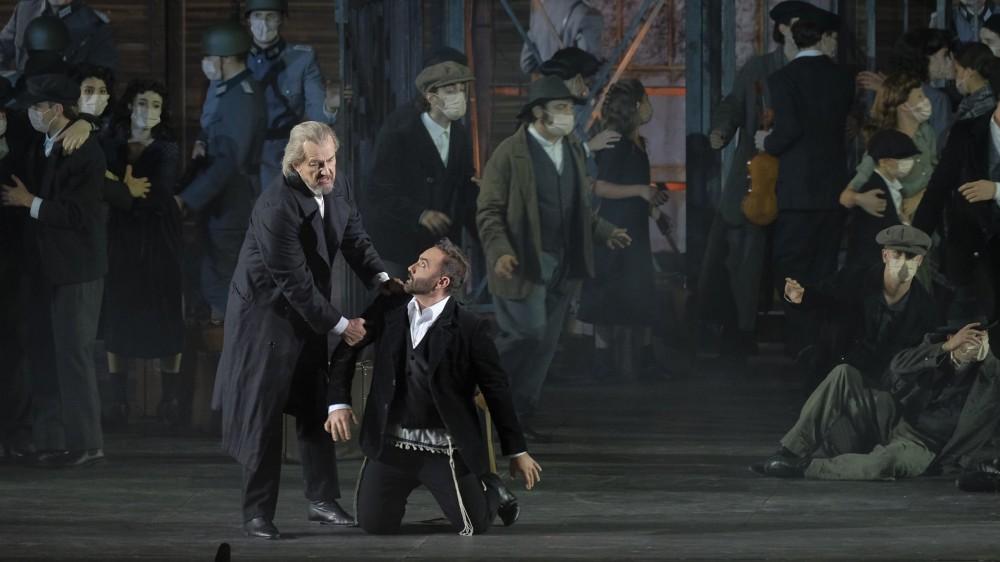 All'arena di Verona torna in scena Nabucco. Questa sera debutta il nuovo cast