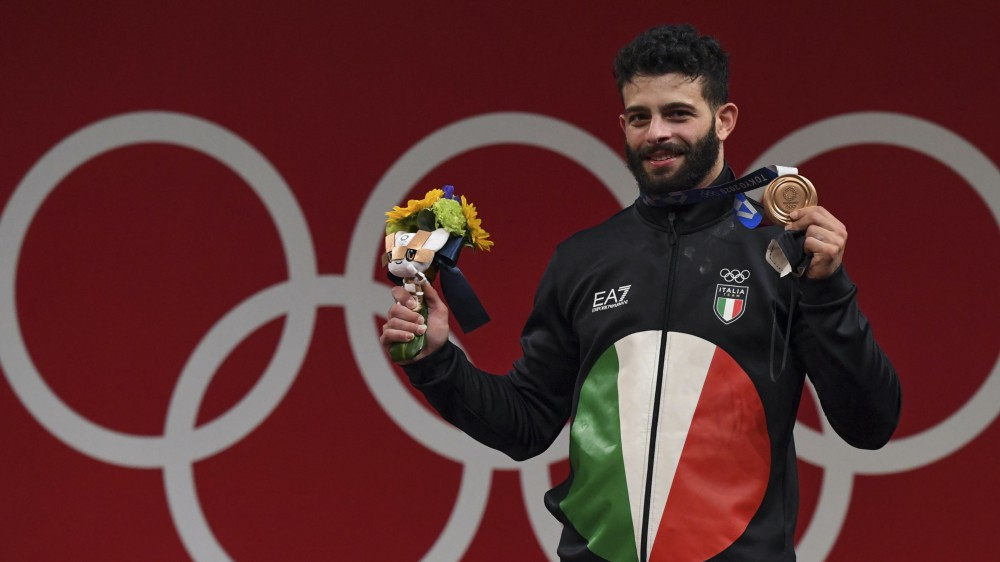 Altre quattro medaglie per l'Italia a una settimana dall'inizio dei giochi olimpici di Tokyo 2020