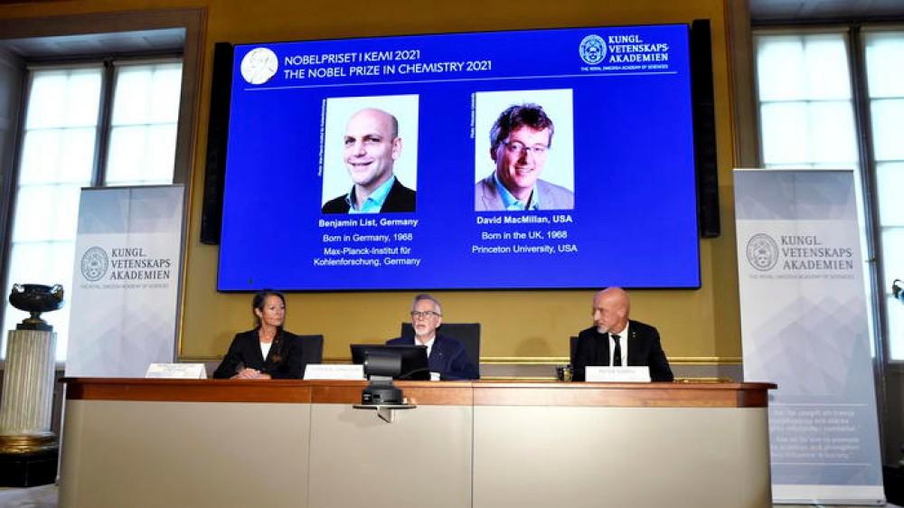 Assegnato il premio Nobel per la Chimica 2021