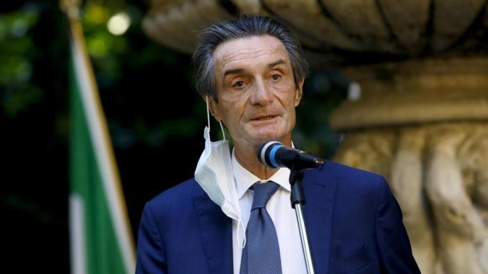 """Attilio Fontana in diretta a RTL 102.5: """"Nella campagna vaccinale e sugli over 80 nessun ritardo, da oggi al via le prenotazioni per gli over 70"""""""