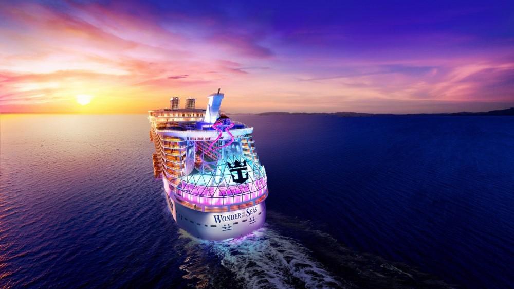 """""""Wonder of the Seas"""" è il nuovo gigante dei mari. Il conto alla rovescia è già partito"""