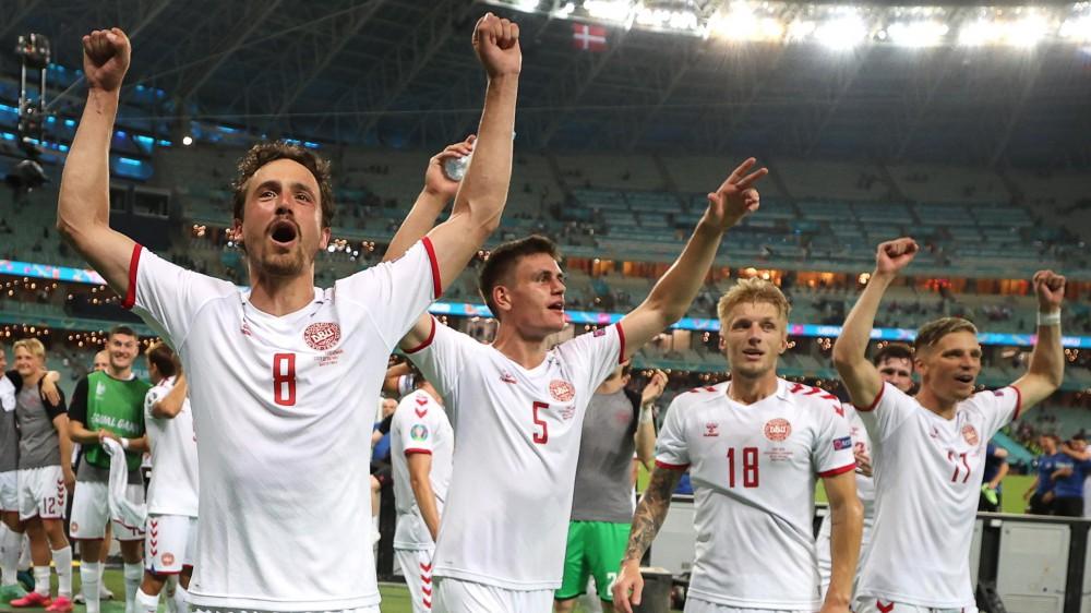 Euro 2020,  Repubblica Ceca-Danimarca 1-2, Ucraina-Inghilterra 0-4