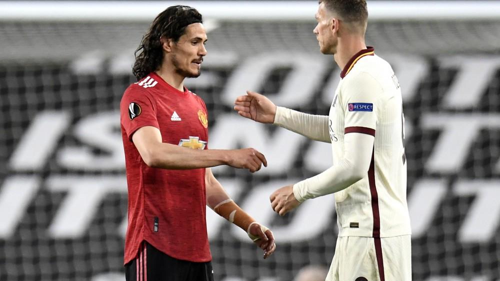 Europa League , all'Old Trafford la Roma si illude, poi finisce sotto una valanga di gol, 6-2 per il Manchester United