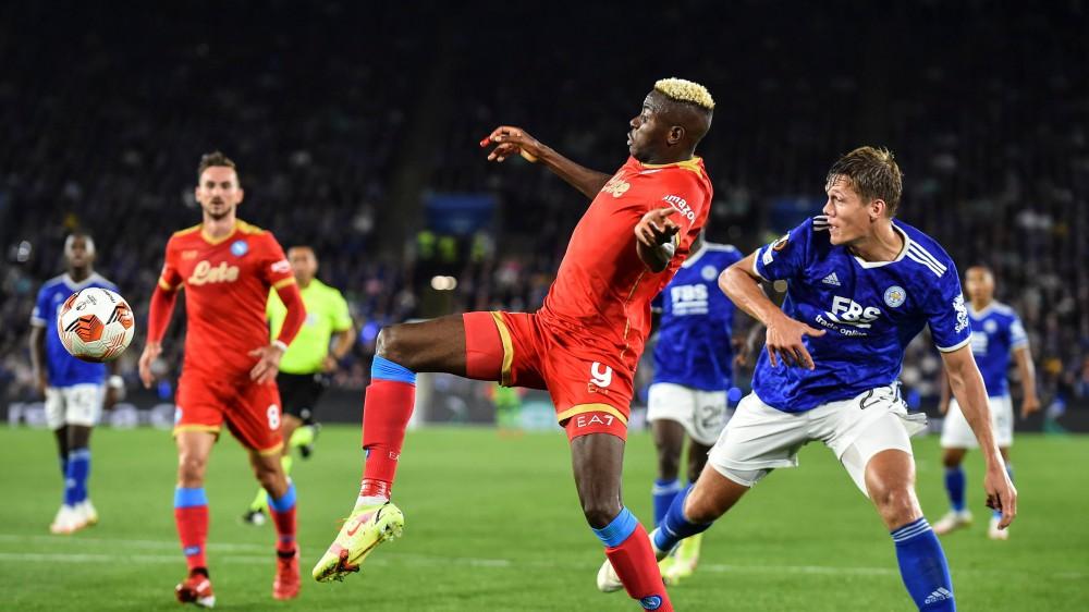 Europa League e Conference League,Lazio sconfitta, Napoli pareggio a Leicester, Roma che dilaga con il Cska Sofia