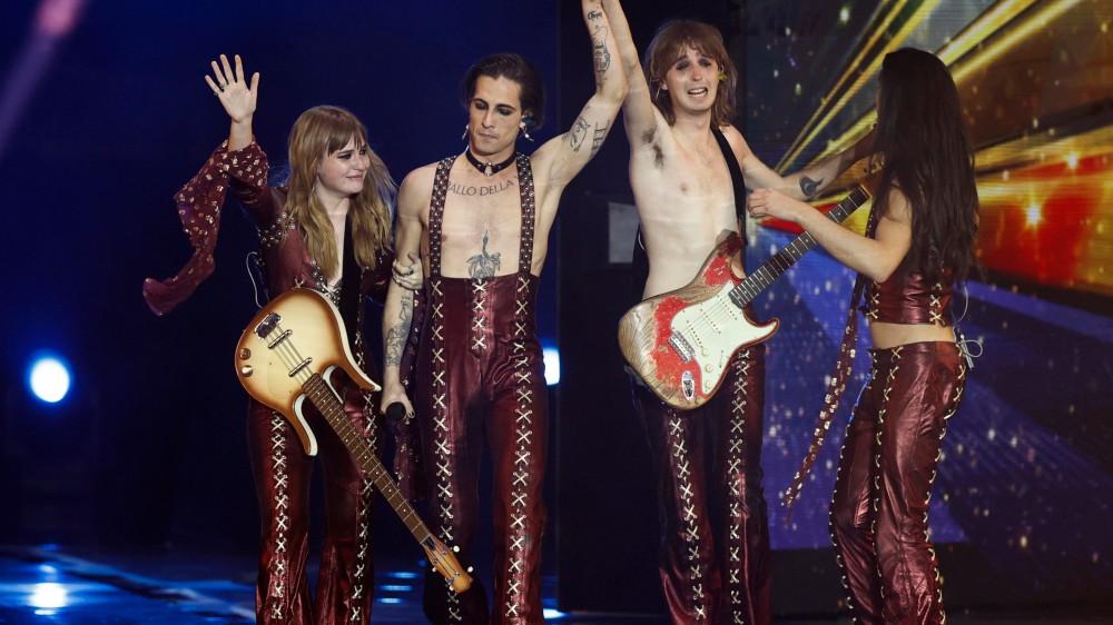 Eurovision Song Contest, trionfano i Maneskin con Zitti e buoni, seconda la Francia