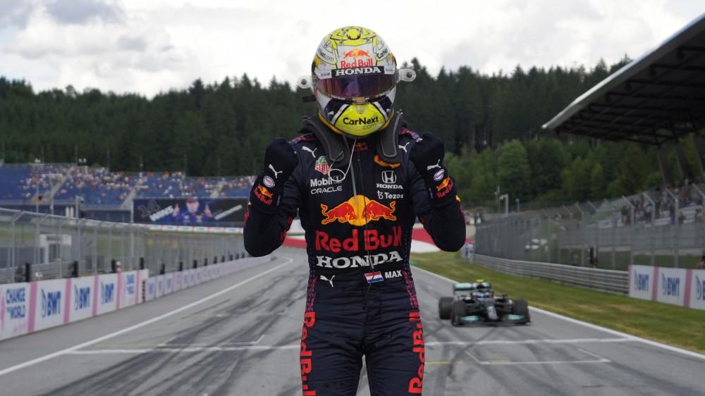 F1, Verstappen sempre più leader, vince il Gp di Stiria e allunga su Hamilton, terzo Bottas