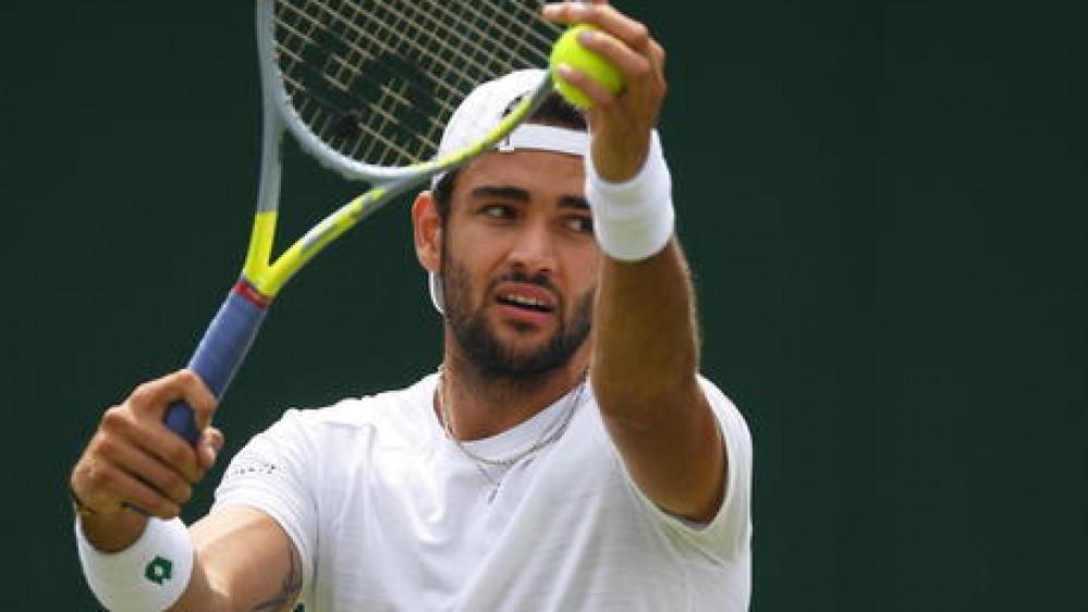 Forfait di Matteo Berrettini, il tennista italiano non parteciperà alle Olimpiadi di Tokyo
