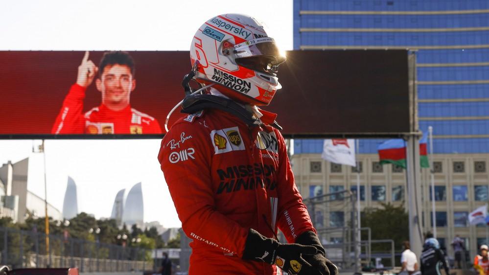 Formula 1, Charles leclerc conquista la pole position del Gran Premio dell'Azerbaijan