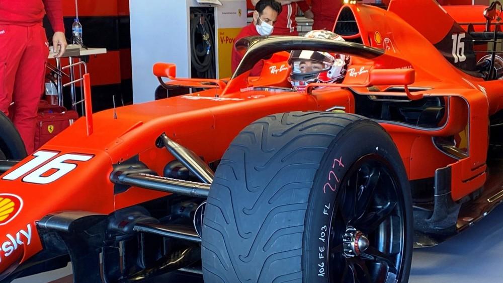 Formula 1, Ferrari in pista sul circuito di Le Castellet per provare le gomme 2022