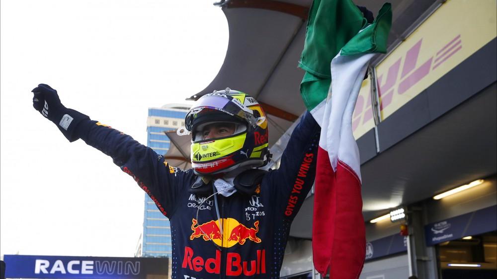 Formula 1, Sergio Perez vince il Gran Premio di Azerbaijan, secondo posto per Vettel, terzo Gasly