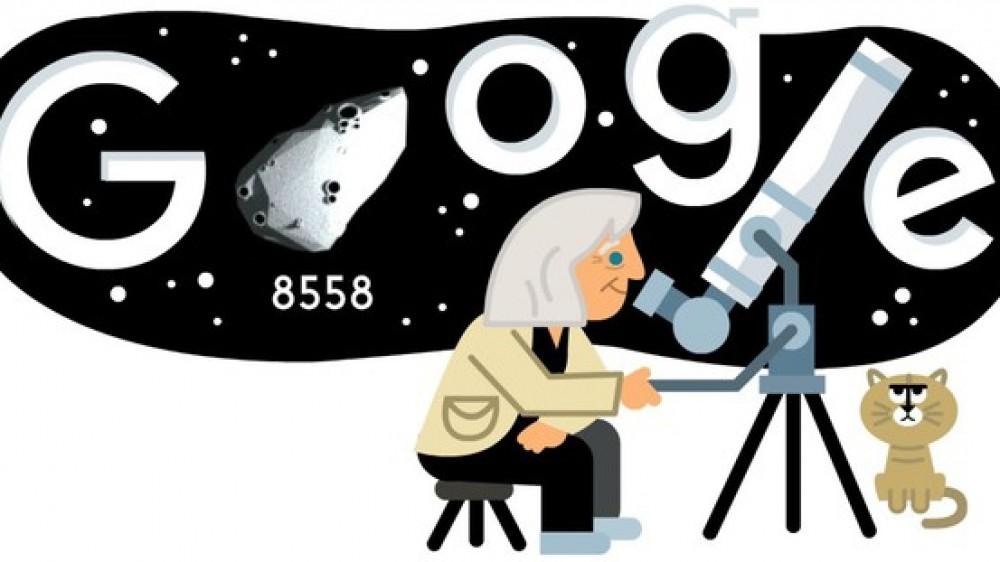 Google ha dedicato il doodle 3D di oggi al 99esimo compleanno dell'astrofisica italiana Margherita Hack