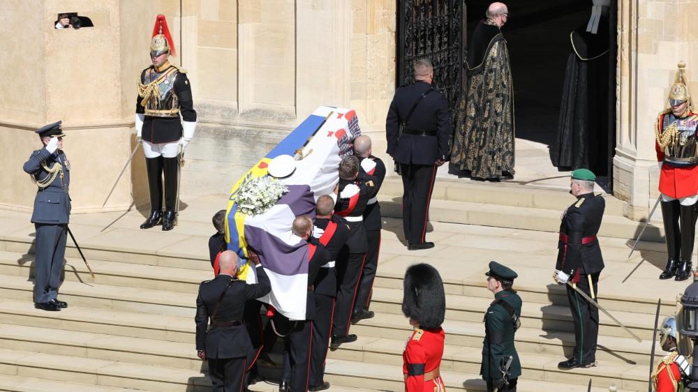 Gran Bretagna, celebrati a Windsor i funerali del Principe Filippo
