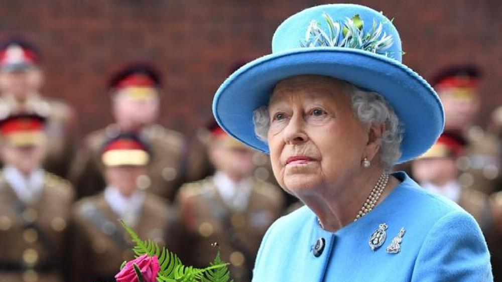 Grandi manovre a Buckingham Palace per il Giubileo di platino nel 2022 in onore dei 70 anni di regno della Regina Elisabetta