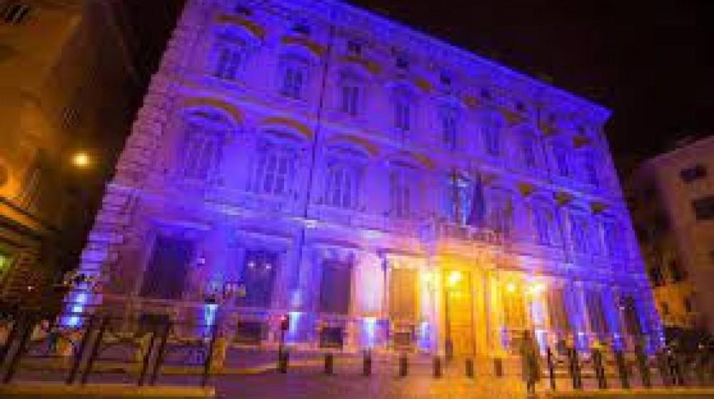 Il 2 aprile si celebra la Giornata mondiale dell'Autismo, da questa sera Palazzo Chigi si tinge di blu