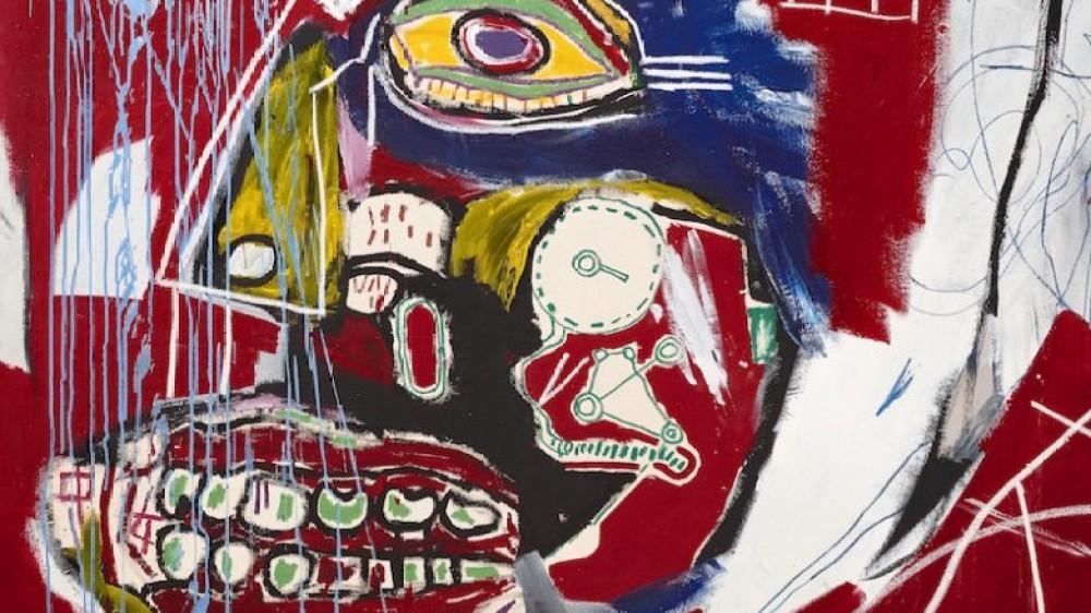 Un quadro di Basquiat raffigurante un teschio venduto per 93 milioni di dollari, quasi il doppio della stima