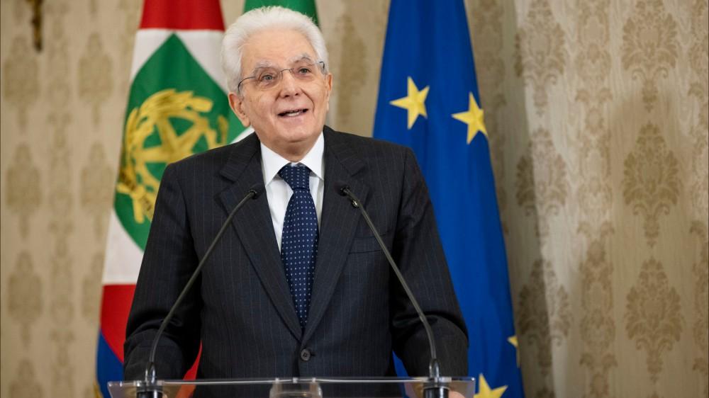 """Il Presidente della Repubblica Sergio Mattarella: """"Ciascuno di noi dipende da tutti gli altri"""""""