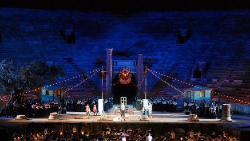 Il ritorno, alla grande, dell'Opera all'Arena di Verona con Cavalleria Rusticana e Pagliacci