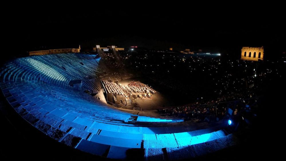 In scena all'Arena di Verona la Nona Sinfonia di Beethoven. Con l'omaggio a Ezio Bosso