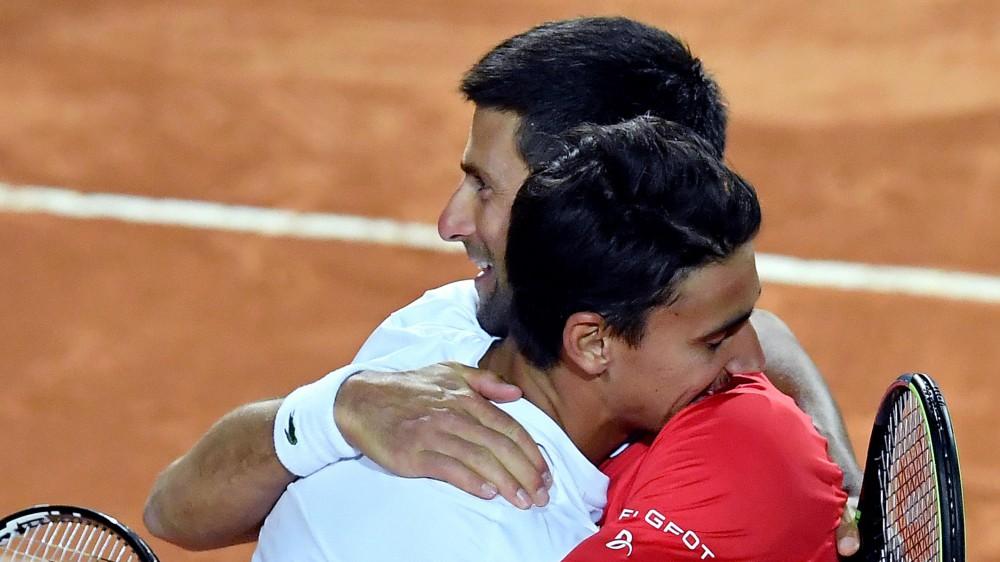 Internazionali Bnl d'Italia, la finale sara' Djokovic-Nadal, si ferma in semifinale un eroico Lorenzo Sonego