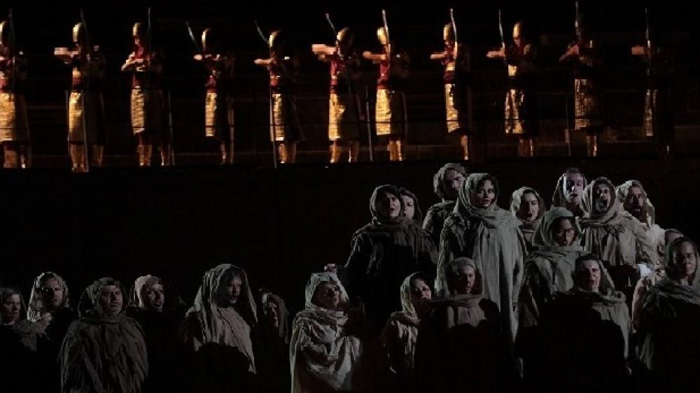 La Prima del Nabucco, la terza opera lirica di Verdi, all'Arena di Verona