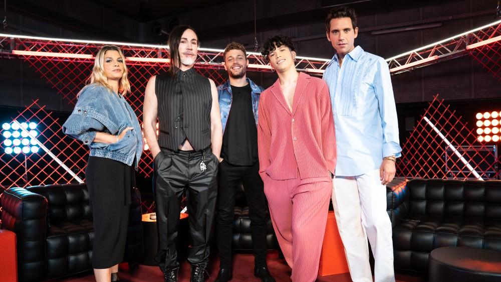 Ludovico Tersigni e i giudici di X Factor ospiti in diretta su RTL 102.5 per presentare le novità dell'edizione 2021