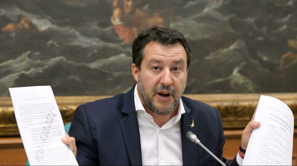 """Matteo Salvini su RTL 102.5: """"Sulla delega fiscale, Draghi metta per iscritto che le tasse non aumenteranno"""""""