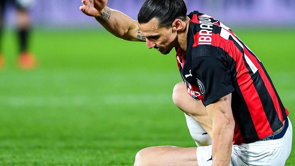 Milan, stop per Ibrahimovic, un problema muscolare lo terrà fermo almeno dieci giorni, Rebic può recuperare