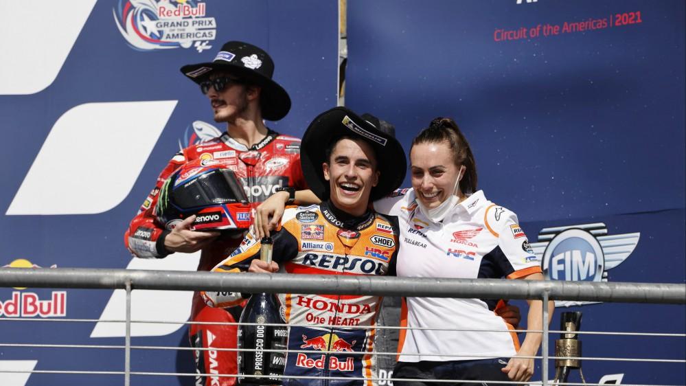 MotoGP, il ritorno di Capitan America: ad Austin domina Marquez.