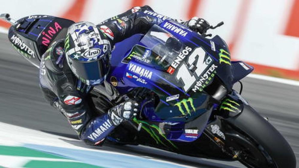 MotoGP, Maverick Vinales conquista la pole position del Gran Premio d'Olanda