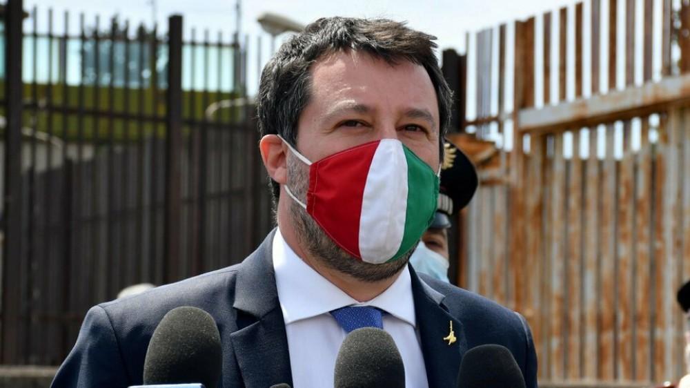 Nave Gregoretti, non luogo a procedere, esulta il leader della Lega Matteo Salvini