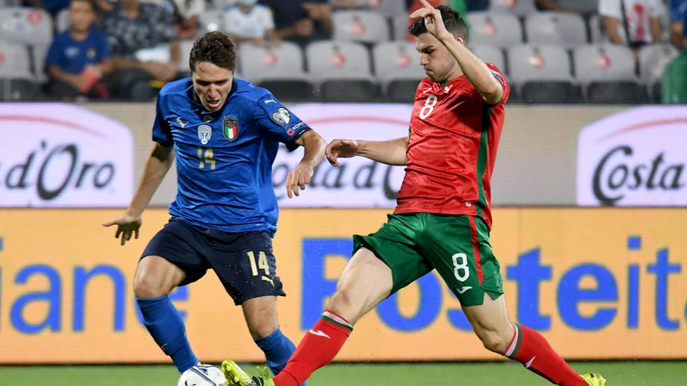 Nazionale, l'Italia campione d'Europa  di Mancini si ferma, parità 1-1 con la Bulgaria, nonostante l'impegno