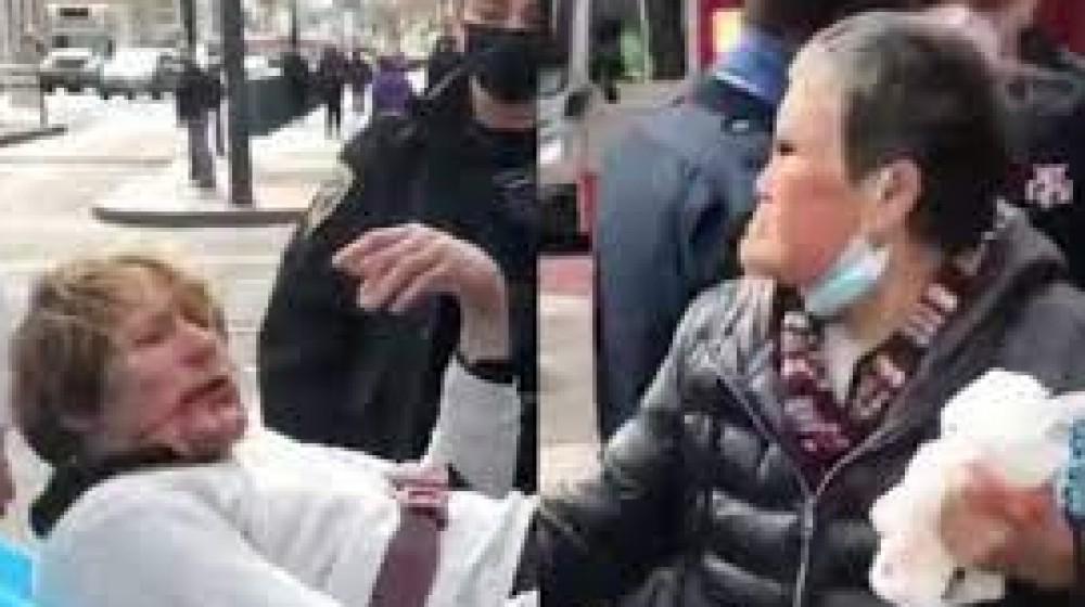 Negli Stati Uniti ondata di violenze contro asiatici, una donna di 75 anni mette al tappeto  l'aggressore