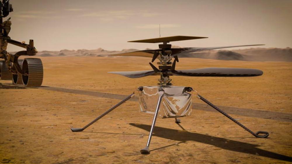 Nono volo su Marte riuscito per il drone-elicottero Ingenuity della Nasa