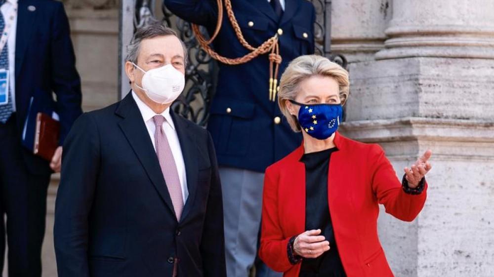 """Pnrr, via libera dalla Commissione europea, Draghi: """"Il Piano ci porterà verso un'Italia più giusta"""""""