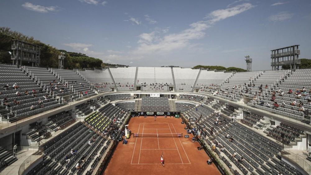 Porte aperte al pubblico agli Internazionali d'Italia: il 25% sulle tribune dagli ottavi di finale