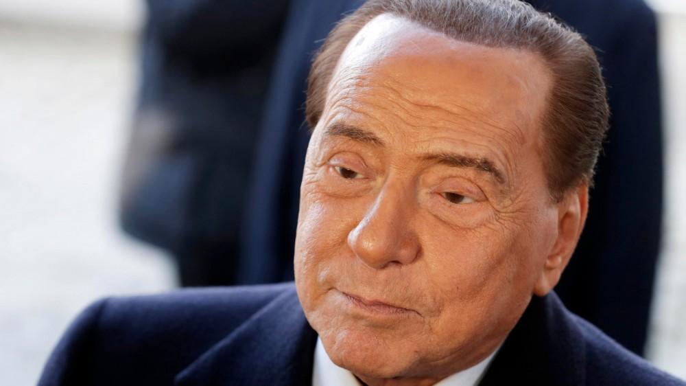 Prima intervista del leader di Forza Italia Silvio Berlusconi dopo i mesi di malattia che lo hanno tenuto lontano dalla politica