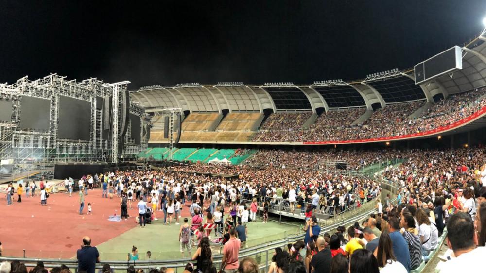Pubblico all'Olimpico per gli Europei di calcio, il mondo della musica chiede di riaprire anche per i concerti
