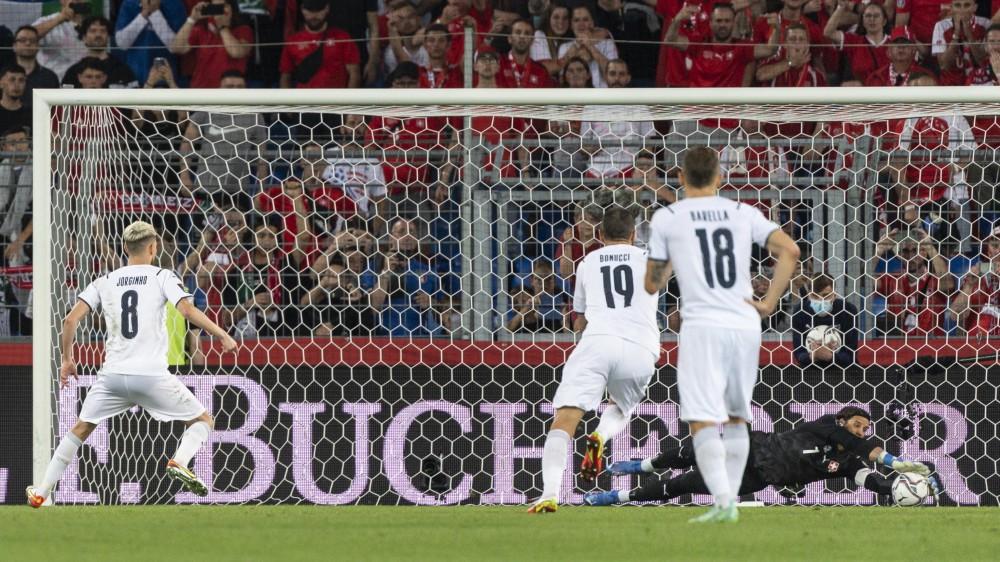 Qualificazioni ai mondiali, la Svizzera ferma sullo 0-0 l'Italia