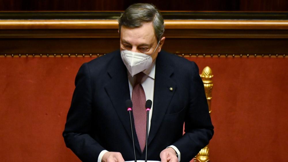 Recovery, il piano di Mario Draghi riceve in Parlamento un'ampia maggioranza, Giorgia Meloni (FdI) si astiene