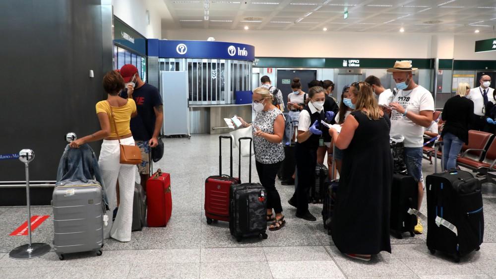 Riparte il turismo in Italia, eliminata la quarantena dai Paesi dell'Unione Europea e da altri Stati