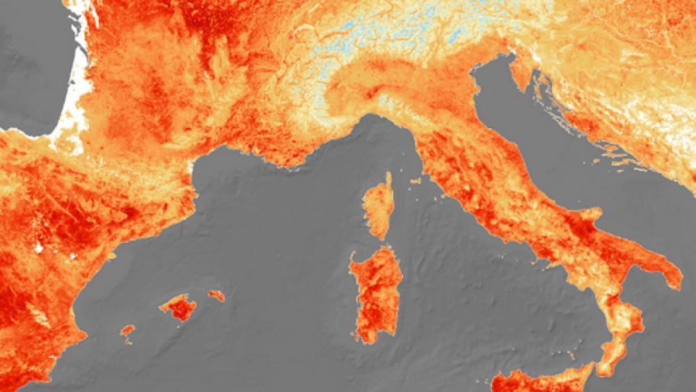 Temperature roventi a giugno, nel 2021 la quarta estate più calda della storia