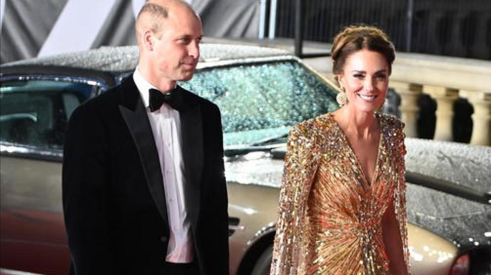 William e Kate alla prima di Bond: i Reali conquistano di nuovo il pubblico